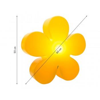 Shining flower 40 cm 32404W 8 Seasons Design