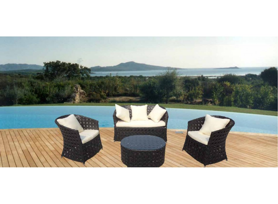 OUTDOOR SOFA SETS / GARDEN A42 / SD2P 2 SEATS SOFA SET DINT