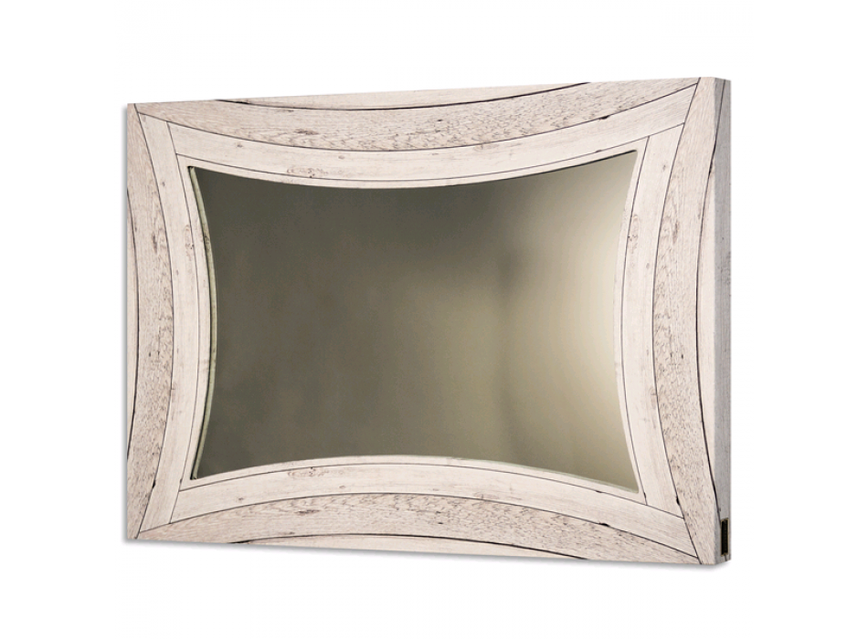 Curved wood mirror GS4366 PINTDECOR