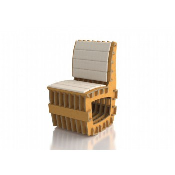SSEFOR FORA OSCILLATING CHAIR FOR CARDBOARD TABLE